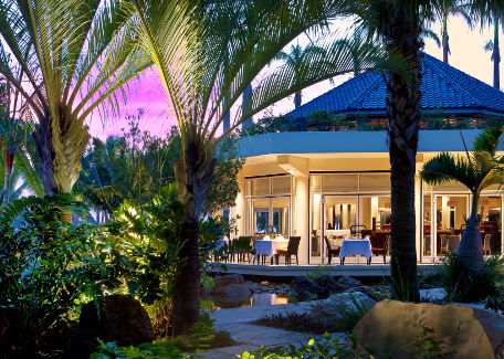 Hippocampe restaurant at the Méridien of Nouméa New Caledonia