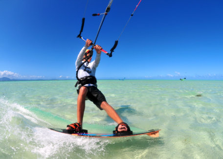 Kitesurf in Noumea, New Caledonia
