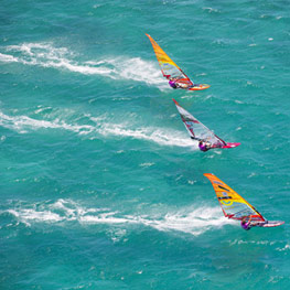 Windsurfing in New Caledonia