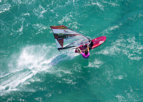 Windsurf in New Caledonia
