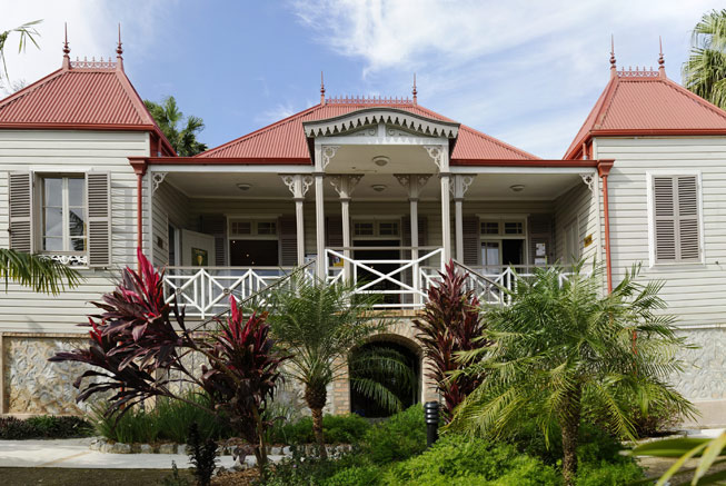 Colonial heritage in New Caledonia