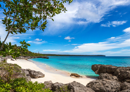 Lifou Beach Loyalty Island New Caledonia
