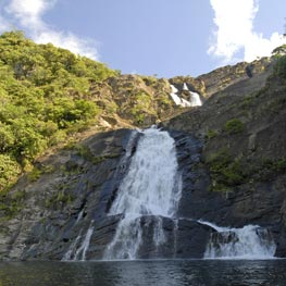 Bâ waterfall in Houailou