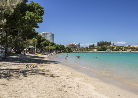 Baie des Citrons beach in Noumea