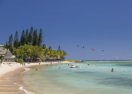 Meridien beach in Noumea