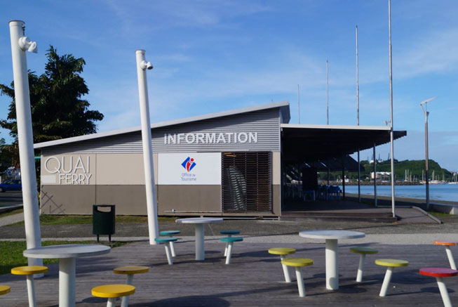 Tourism office in Noumea